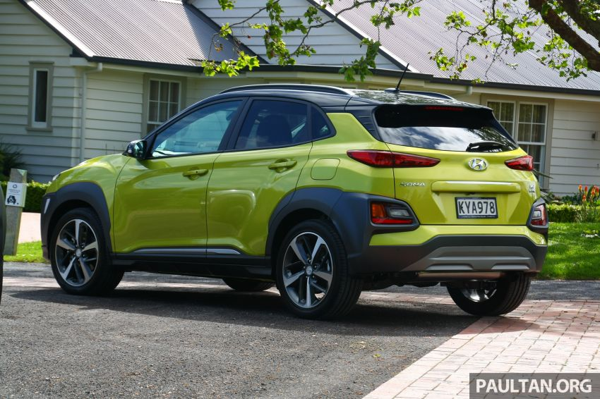 DRIVEN: Hyundai Kona – styled up, best when boosted Image #1175322