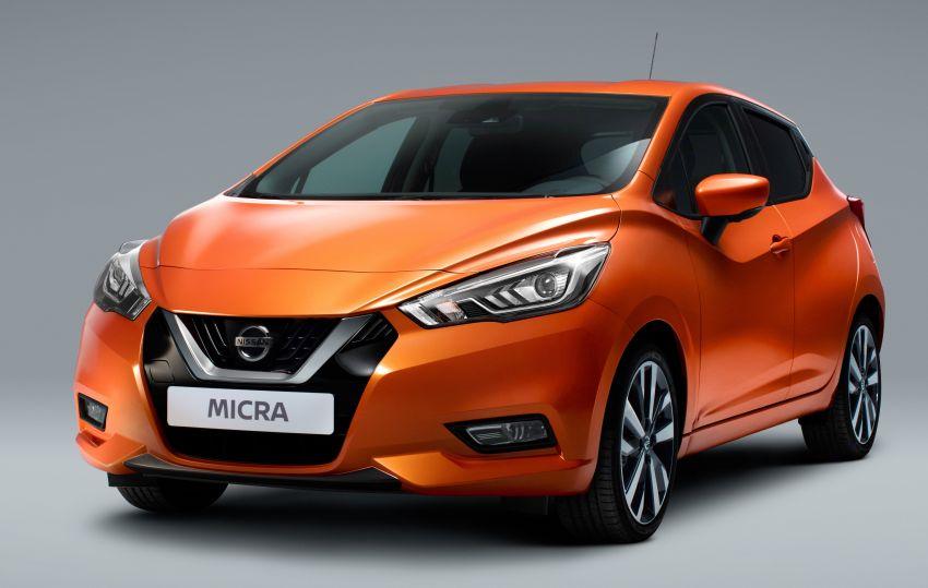 Nissan March baru bakal direka, dibina oleh Renault Image #1173544