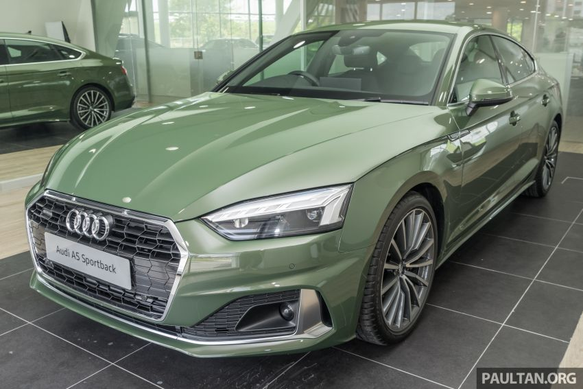 2020 Audi A5 Sportback facelift previewed in M'sia – 190 PS 2.0 TFSI and 249 PS quattro variants offered Image #1182662