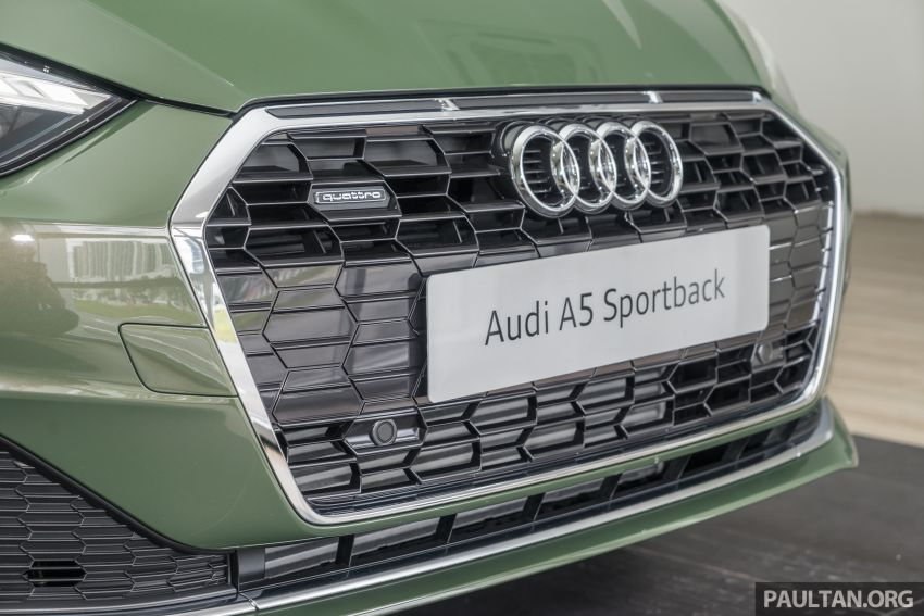 2020 Audi A5 Sportback facelift previewed in M'sia – 190 PS 2.0 TFSI and 249 PS quattro variants offered Image #1182671