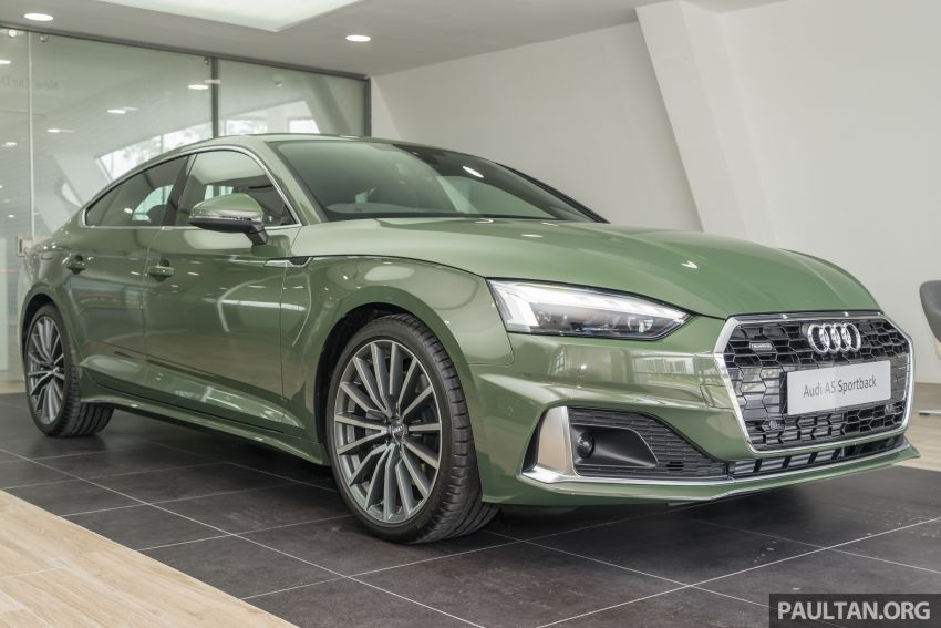 2020 Audi A5 Sportback facelift previewed in M'sia – 190 PS 2.0 TFSI and 249 PS quattro variants offered Image #1182663