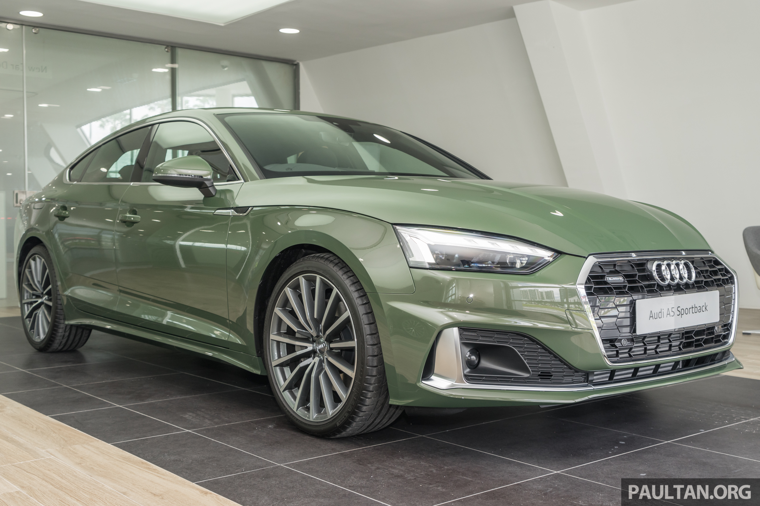 2020 Audi A5 Sportback Facelift Previewed In M Sia 190 Ps 2 0 Tfsi And 249 Ps Quattro Variants Offered Paultan Org