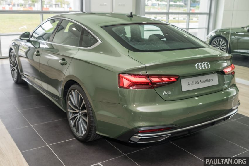 2020 Audi A5 Sportback facelift previewed in M'sia – 190 PS 2.0 TFSI and 249 PS quattro variants offered Image #1182664