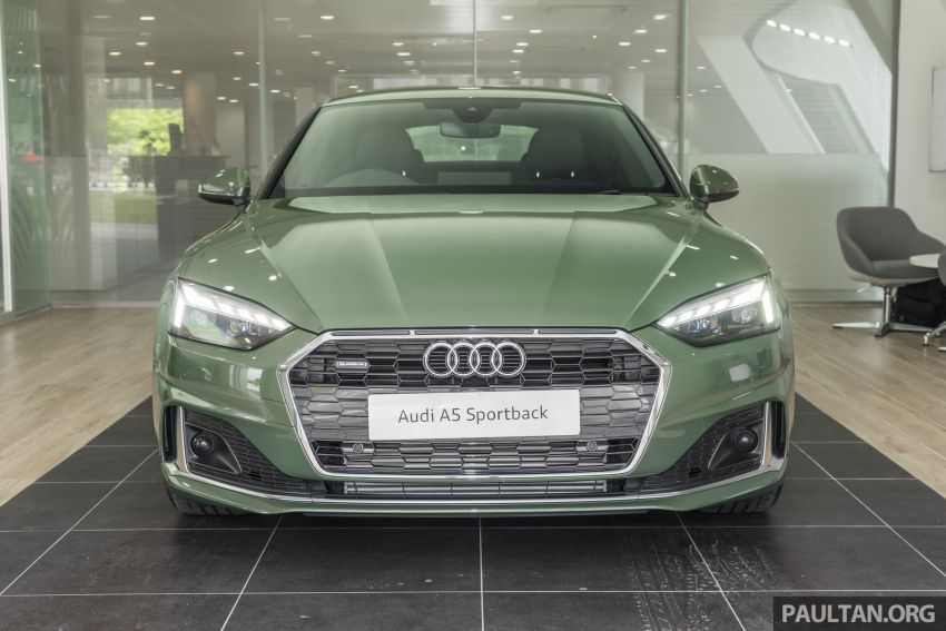 2020 Audi A5 Sportback facelift previewed in M'sia – 190 PS 2.0 TFSI and 249 PS quattro variants offered Image #1182666