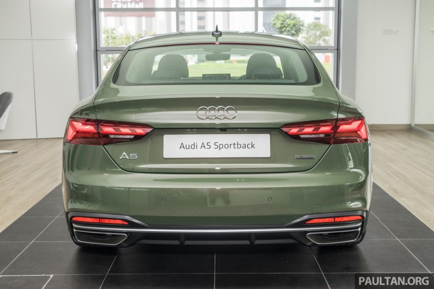 2020 Audi A5 Sportback facelift previewed in M'sia – 190 PS 2.0 TFSI and 249 PS quattro variants offered Image #1182667