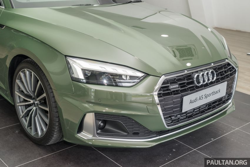 2020 Audi A5 Sportback facelift previewed in M'sia – 190 PS 2.0 TFSI and 249 PS quattro variants offered Image #1182669