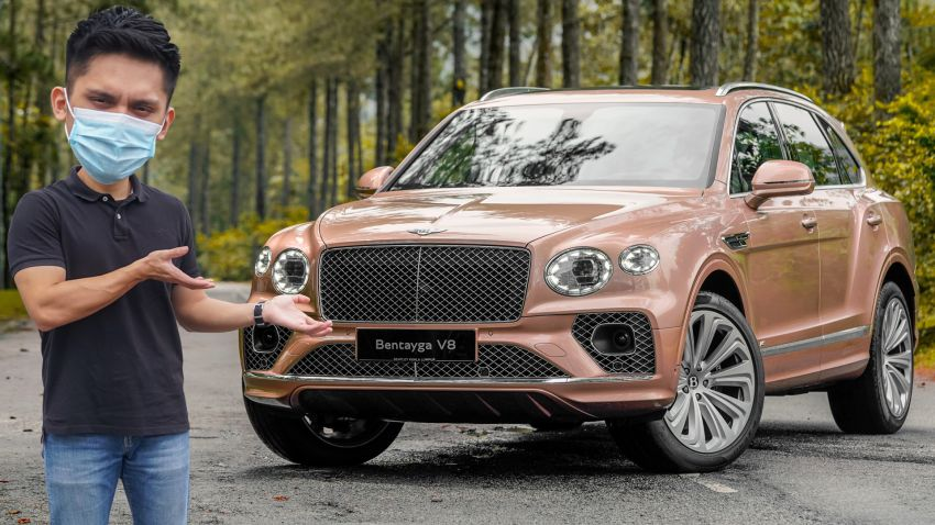 FIRST DRIVE: 2020 Bentley Bentayga V8 FL in M'sia Image #1188478