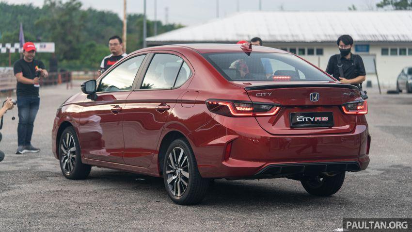 DRIVEN: Honda City RS i-MMD – torque of the town Image #1183543