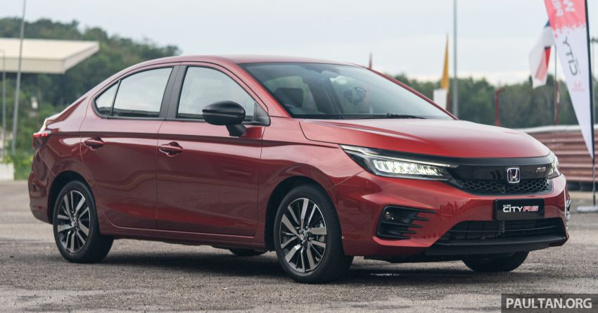 DRIVEN: Honda City RS i-MMD – torque of the town Image #1183549