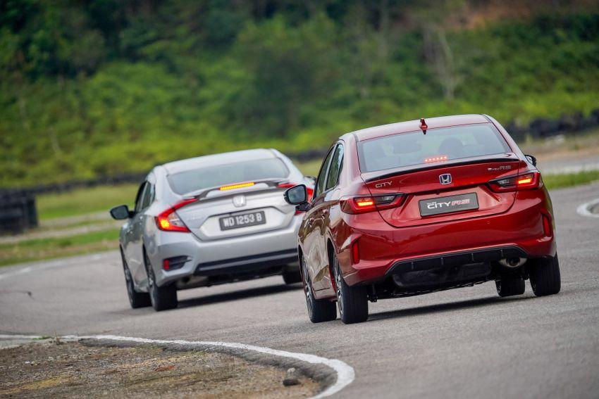 DRIVEN: Honda City RS i-MMD – torque of the town Image #1182845