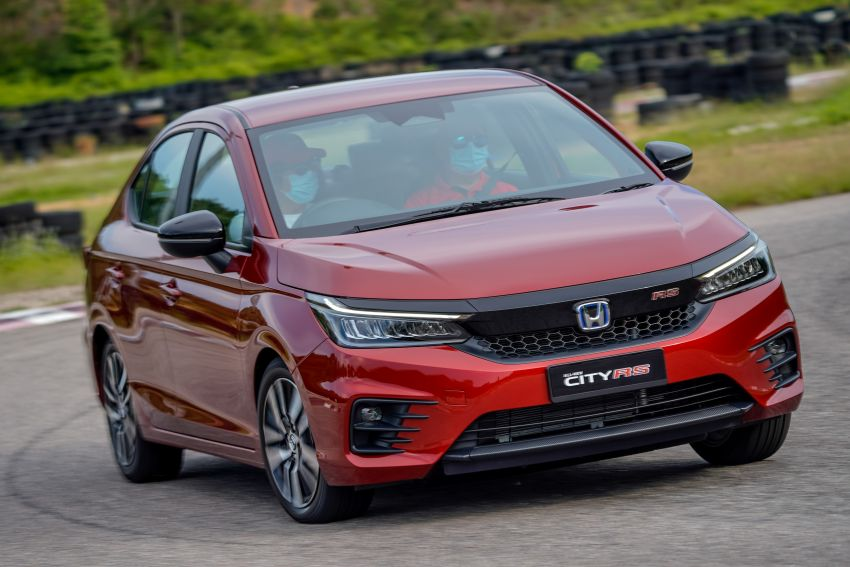 DRIVEN: Honda City RS i-MMD – torque of the town Image #1182833
