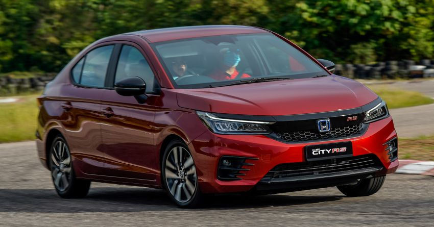 DRIVEN: Honda City RS i-MMD – torque of the town Image #1182837