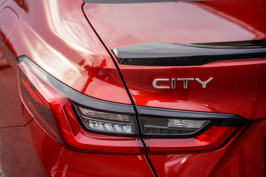 2020 Honda City RS i-MMD – more details and photos, variant features the full Honda Sensing safety suite Image #1183224