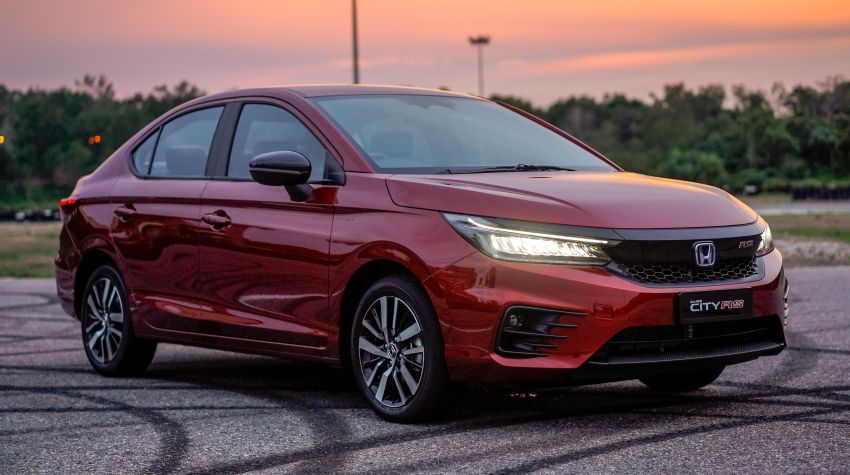 2020 Honda City RS i-MMD – more details and photos, variant features the full Honda Sensing safety suite Image #1183196