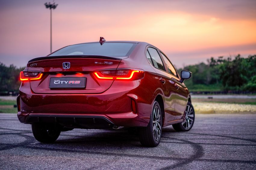 2020 Honda City RS i-MMD – more details and photos, variant features the full Honda Sensing safety suite Image #1183202