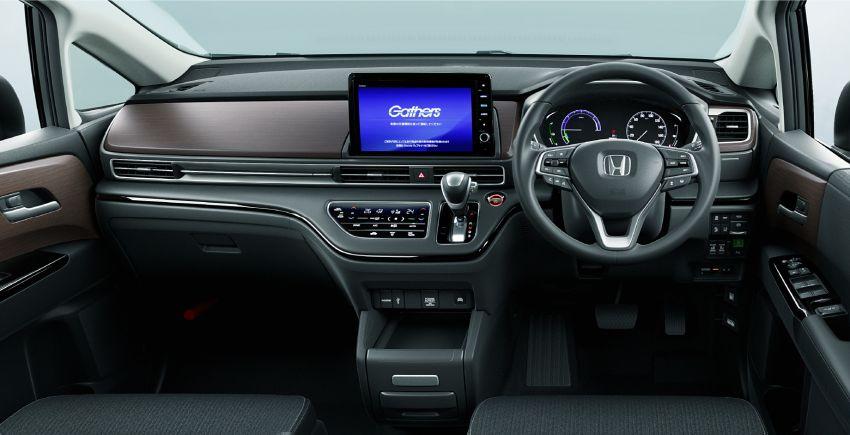 2020 Honda Odyssey facelift previewed for Japan – e:HEV hybrid, gesture control powered sliding doors Image #1172512