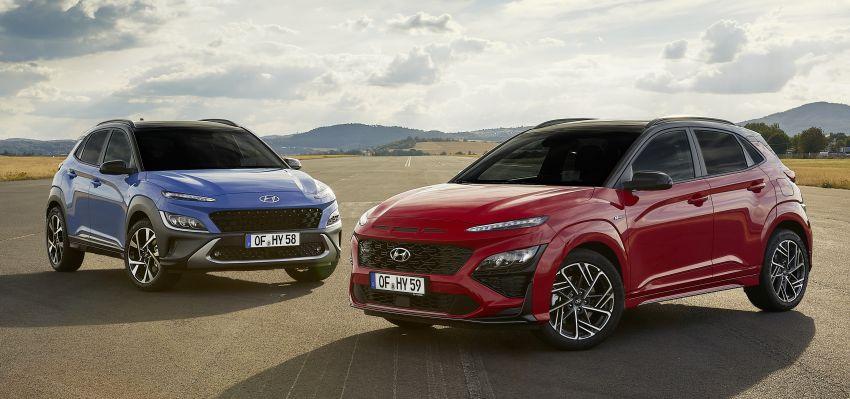 Hyundai Kona facelift revealed – now with N Line trim; enhanced powertrains, driver assist, connectivity Image #1169846
