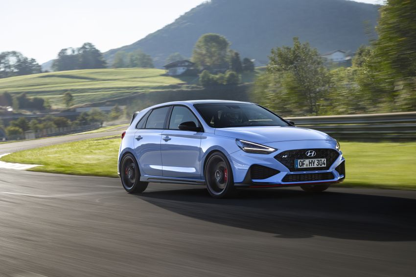 2020 Hyundai i30 N facelift shown, adds 8-speed DCT Image #1183252