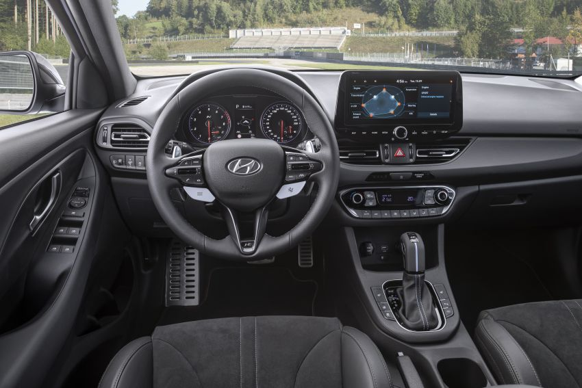 2020 Hyundai i30 N facelift shown, adds 8-speed DCT Image #1183247