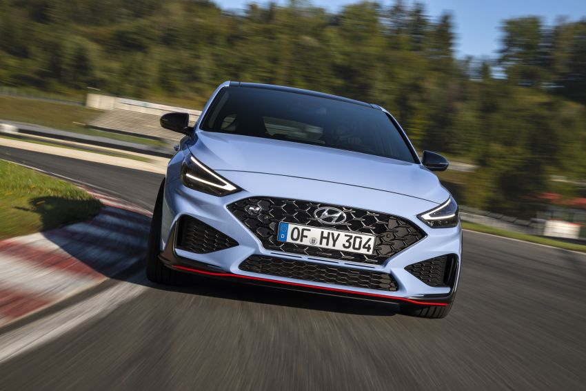 2020 Hyundai i30 N facelift shown, adds 8-speed DCT Image #1183237