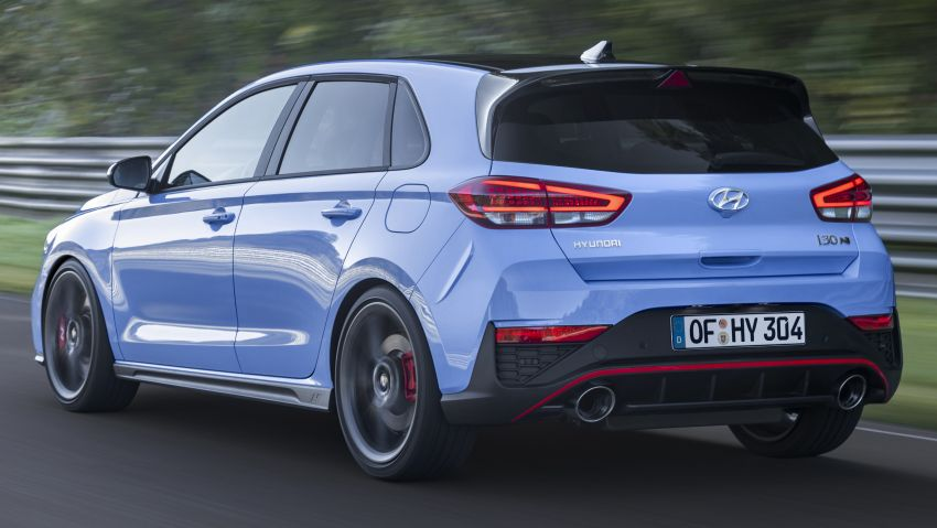 2020 Hyundai i30 N facelift shown, adds 8-speed DCT Image #1183239