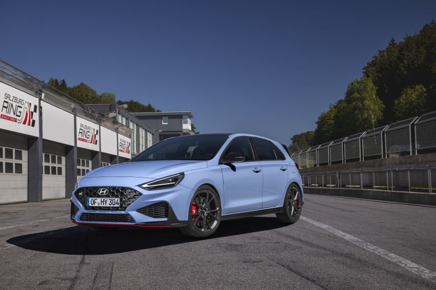 2020 Hyundai i30 N facelift shown, adds 8-speed DCT Image #1183241