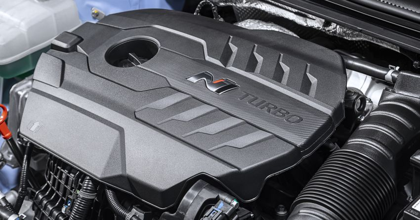 2020 Hyundai i30 N facelift shown, adds 8-speed DCT Image #1183244