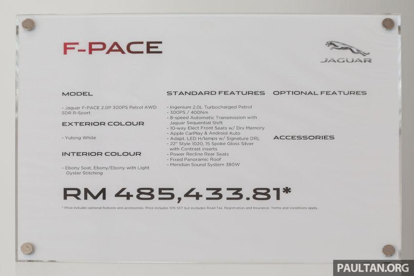 GALERI: Jaguar F-Pace 30t R-Sport — 300 PS, RM485k Image #1169269