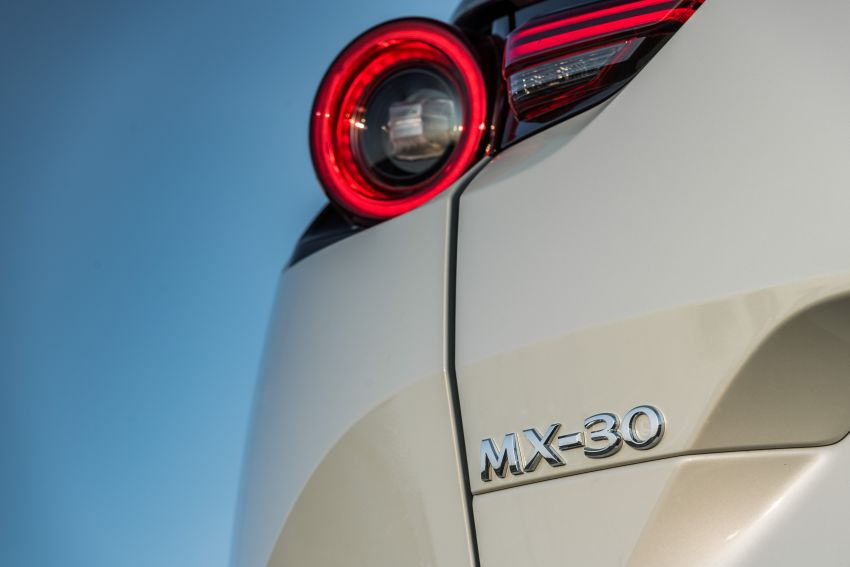 Mazda MX-30 EV launched in the UK – from RM137k Image #1185217