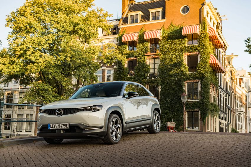 Mazda MX-30 EV launched in the UK – from RM137k Image #1185221