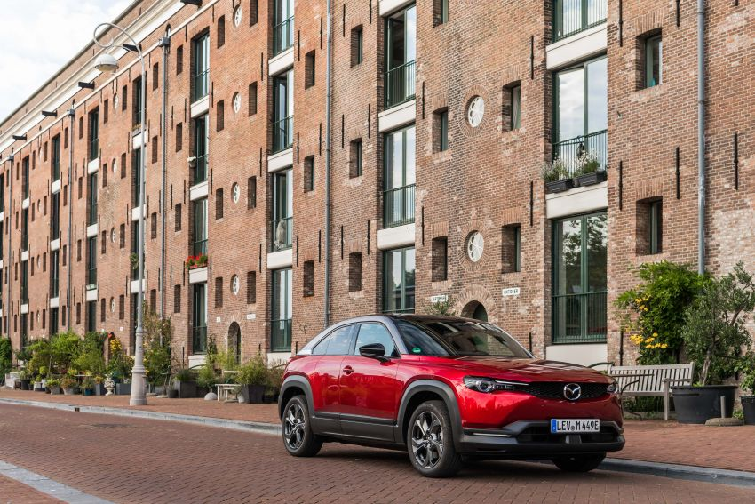 Mazda MX-30 EV launched in the UK – from RM137k Image #1184899