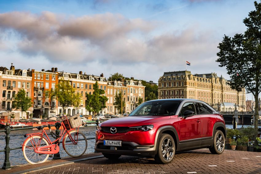 Mazda MX-30 EV launched in the UK – from RM137k Image #1184907