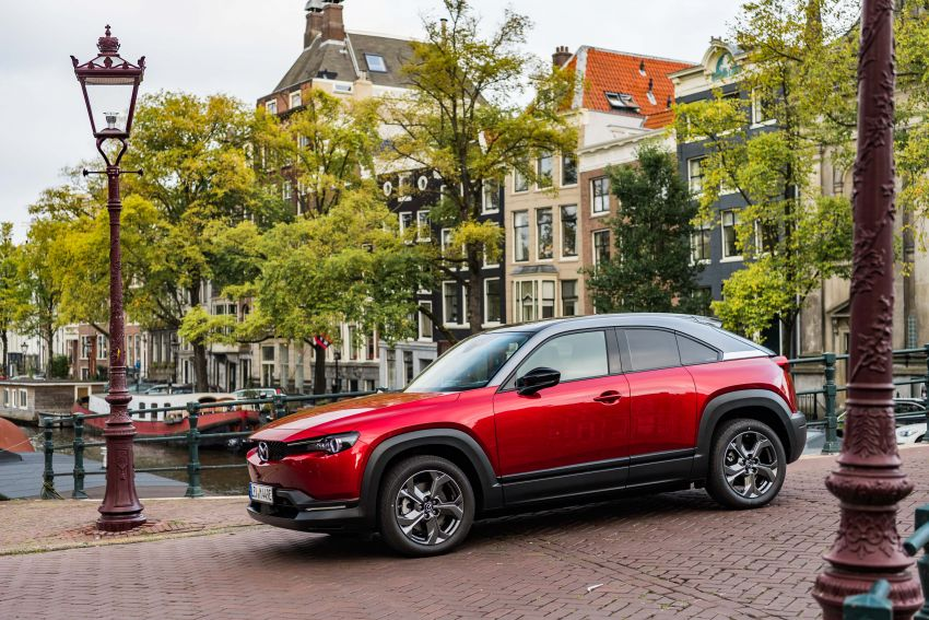 Mazda MX-30 EV launched in the UK – from RM137k Image #1184913