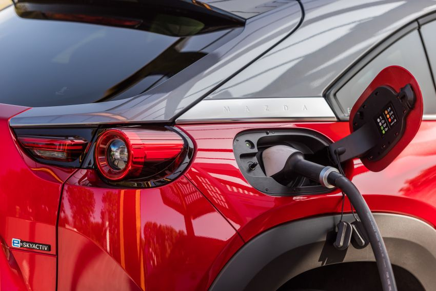 Mazda MX-30 EV launched in the UK – from RM137k Image #1184930
