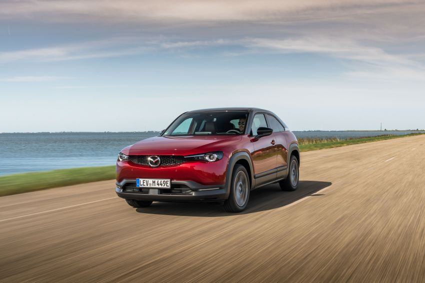 Mazda MX-30 EV launched in the UK – from RM137k Image #1184949