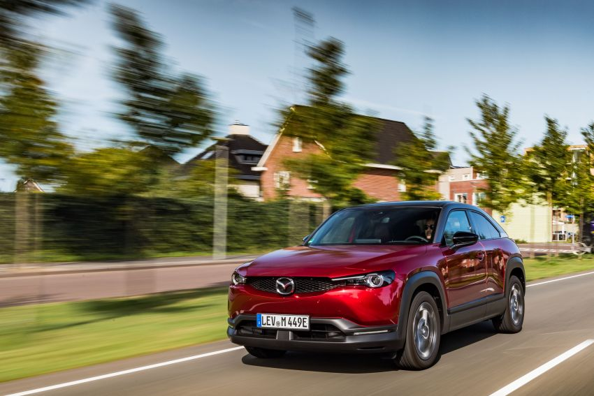 Mazda MX-30 EV launched in the UK – from RM137k Image #1184952