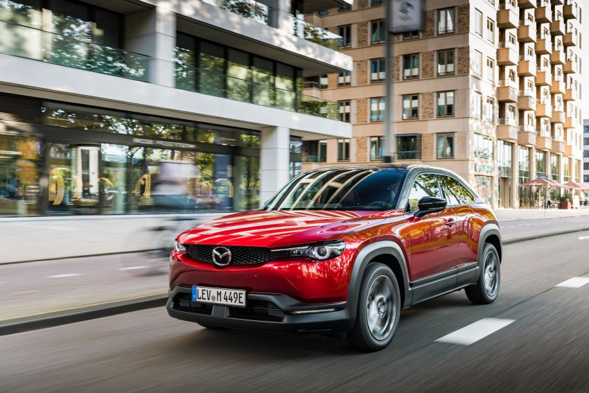 Mazda MX-30 EV launched in the UK – from RM137k Image #1184984