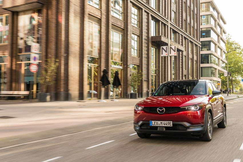 Mazda MX-30 EV launched in the UK – from RM137k Image #1184986