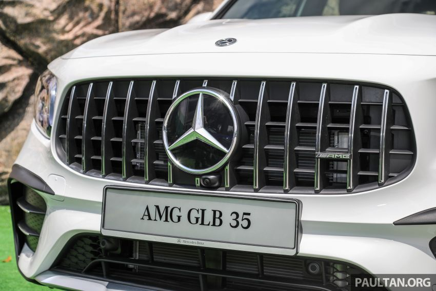 X247 Mercedes-AMG GLB35 4Matic officially launched in Malaysia – 306 PS; 0-100 km/h in 5.2s; from RM363k Image #1180135