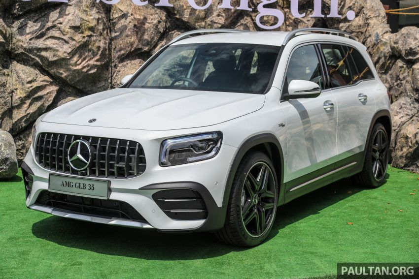 X247 Mercedes-AMG GLB35 4Matic officially launched in Malaysia – 306 PS; 0-100 km/h in 5.2s; from RM363k Image #1180111