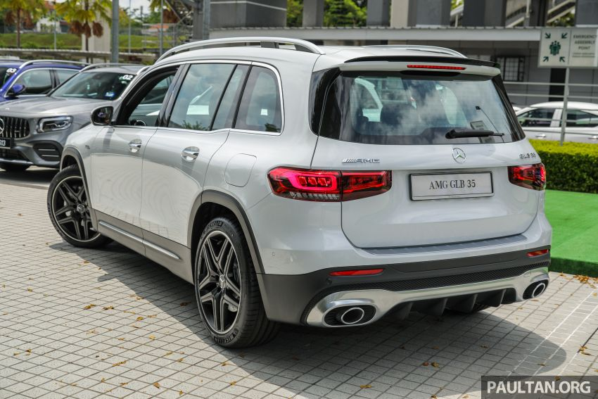 X247 Mercedes-AMG GLB35 4Matic officially launched in Malaysia – 306 PS; 0-100 km/h in 5.2s; from RM363k Image #1180114
