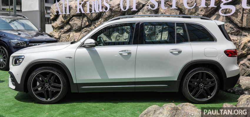 X247 Mercedes-AMG GLB35 4Matic officially launched in Malaysia – 306 PS; 0-100 km/h in 5.2s; from RM363k Image #1180119