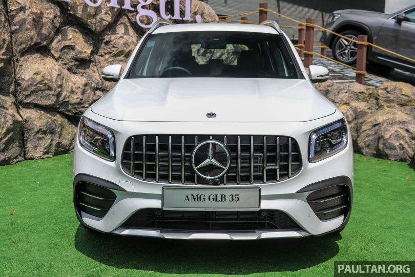 X247 Mercedes-AMG GLB35 4Matic officially launched in Malaysia – 306 PS; 0-100 km/h in 5.2s; from RM363k Image #1180122