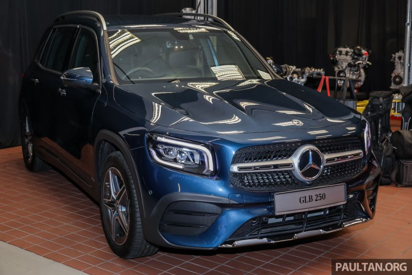 X247 Mercedes-Benz GLB SUV launched in Malaysia – seven-seat GLB200, GLB250 4Matic; from RM269k Image #1180310