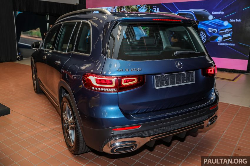 X247 Mercedes-Benz GLB SUV launched in Malaysia – seven-seat GLB200, GLB250 4Matic; from RM269k Image #1180313