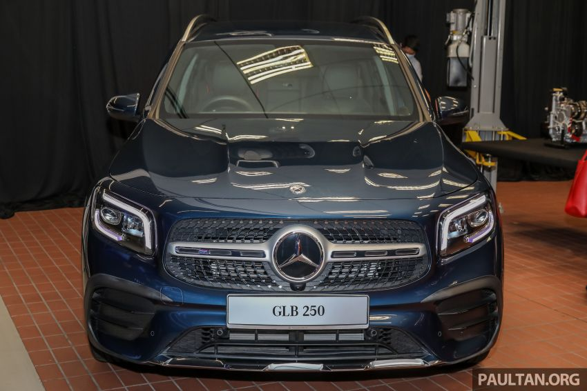 X247 Mercedes-Benz GLB SUV launched in Malaysia – seven-seat GLB200, GLB250 4Matic; from RM269k Image #1180319