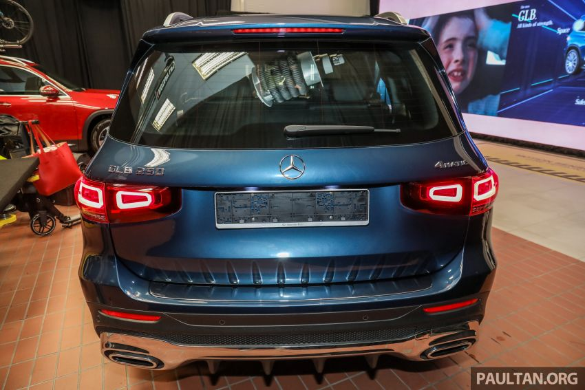 X247 Mercedes-Benz GLB SUV launched in Malaysia – seven-seat GLB200, GLB250 4Matic; from RM269k Image #1180324
