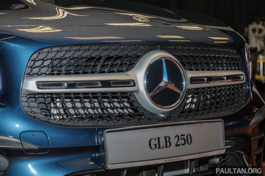X247 Mercedes-Benz GLB SUV launched in Malaysia – seven-seat GLB200, GLB250 4Matic; from RM269k Image #1180339