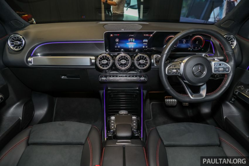 X247 Mercedes-Benz GLB SUV launched in Malaysia – seven-seat GLB200, GLB250 4Matic; from RM269k Image #1180405
