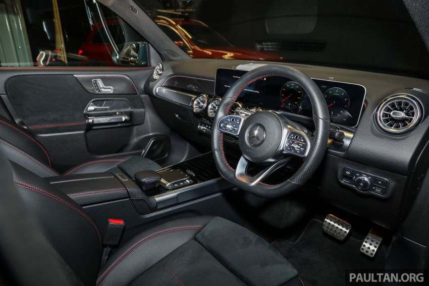 X247 Mercedes-Benz GLB SUV launched in Malaysia – seven-seat GLB200, GLB250 4Matic; from RM269k Image #1180410